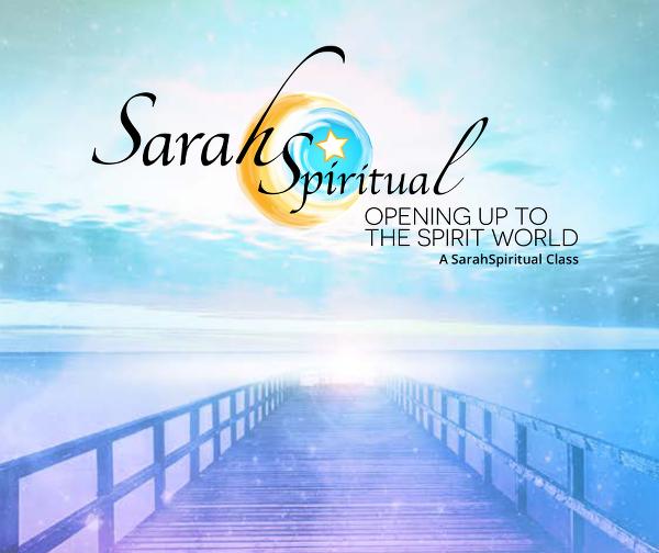 Opening Up to the Spirit World Master Image