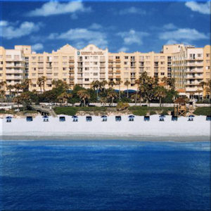 enbassy Suites Beach Front View