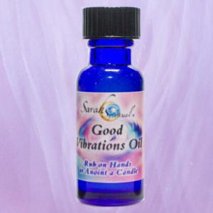 SarahSpiritual Good Vibrations Oil