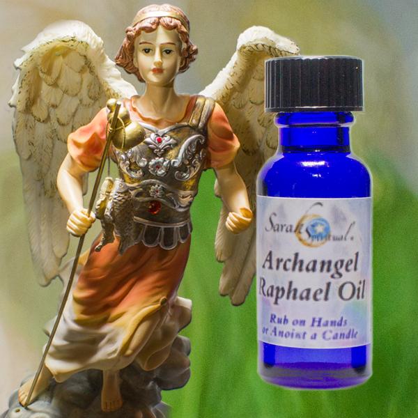 Archangel Raphael Oil