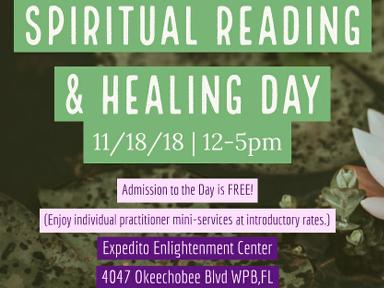 Spiritual Reading Healing Day
