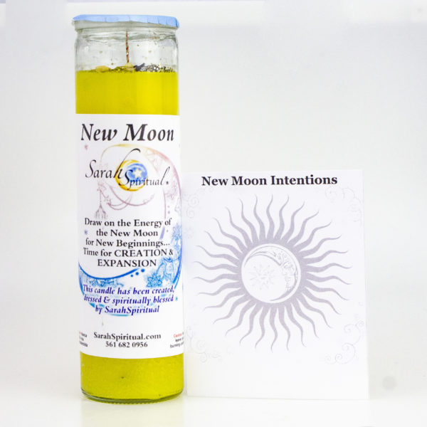 New Moon Candle & Intention Papers Master Image