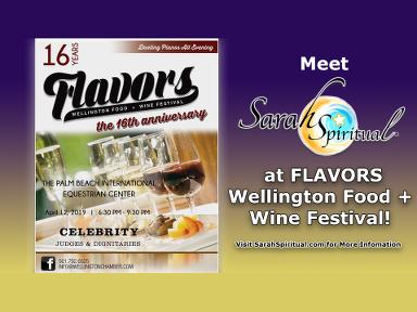 SarahSpiritual at Wellington Flavors2019 Festival