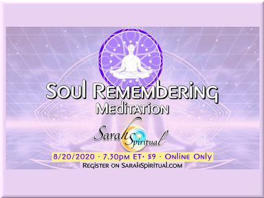 SarahSpiritual Soul Remembering Meditattion