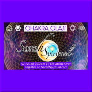 SarahSpiritual Chakra Power