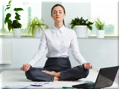 Spiritual Businesswoman