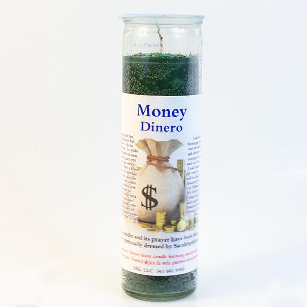 Psychic SarahSpiritual Money Candle