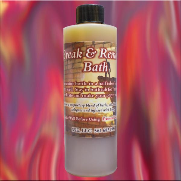 Psychic SarahSpiritual Break and Remove Bath