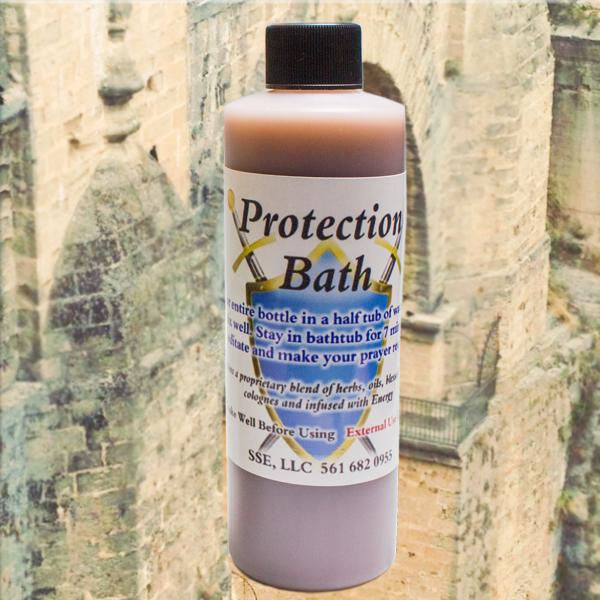 Psychic SarahSpiritual Protection Bath