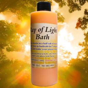 Psychic SarahSpiritual Ray of Light Bath