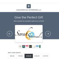 SarahSpiritual e-Gift Cards