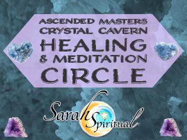 Ascended Masters Crystal Caverns Healing Meditation Circle