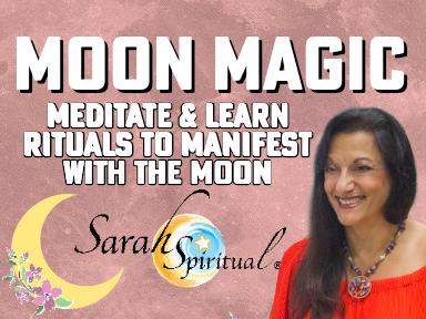 Moon Magic – ONLINE SarahSpiritual Class