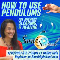SarahSpiritual How To Use Pendulums Online Class