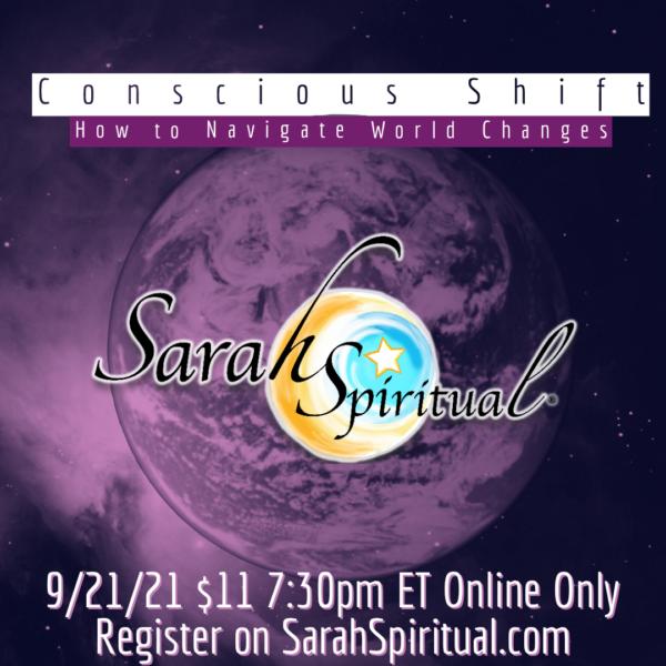 SarahSpiritual Conscious Shift Online Class